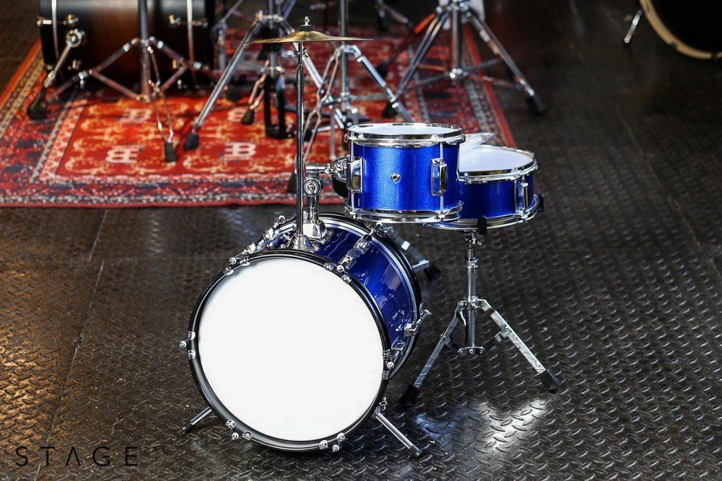 StagePro - niebieska perkusja dla dzieci