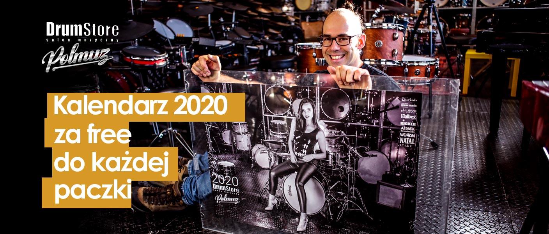 Kalendarz drumstore za free 2020 - Klaudia Tołłoczko